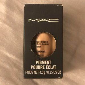 NEW MAC loose pigment in rose gold